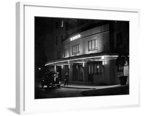 Dorchester Hotel 1930S--Framed Art Print