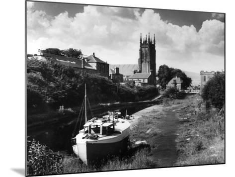 Forth - Clyde Canal--Mounted Photographic Print