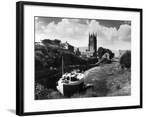 Forth - Clyde Canal--Framed Art Print