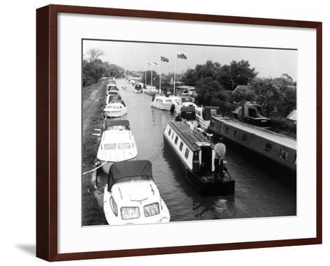 Shropshire Union Canal--Framed Art Print