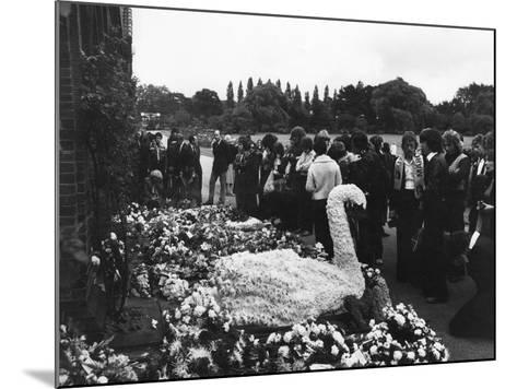 Marc Bolan's Funeral--Mounted Photographic Print