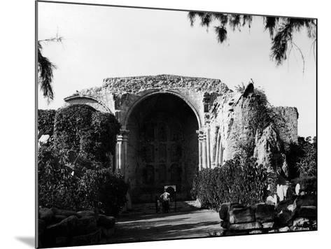 Mission Ruins--Mounted Photographic Print