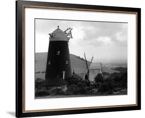 Jack and Jill Windmills--Framed Art Print