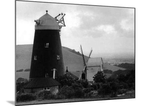 Jack and Jill Windmills--Mounted Photographic Print