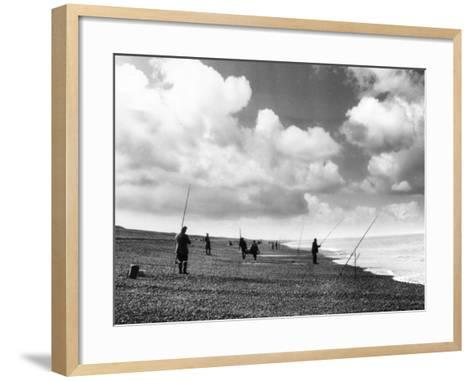 Norfolk Sea Anglers--Framed Art Print