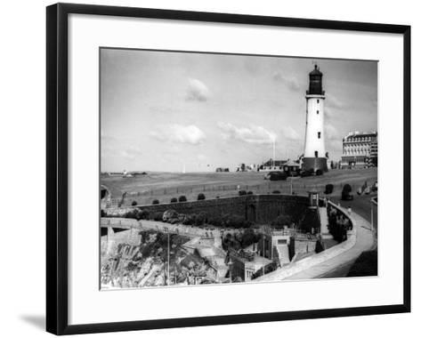 England, Plymouth Hoe--Framed Art Print