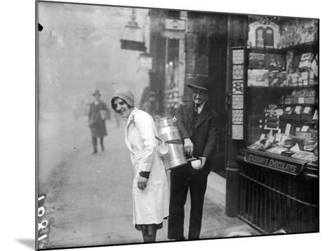 Coffee Seller 1930S--Mounted Photographic Print
