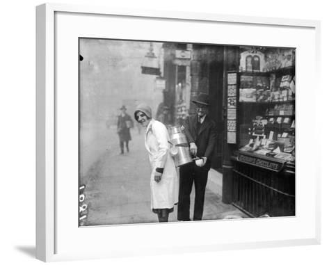 Coffee Seller 1930S--Framed Art Print