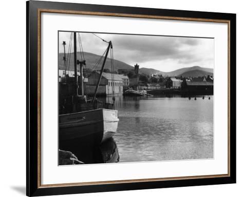 Dingle Harbour--Framed Art Print