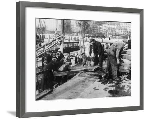 Prohibition Raid--Framed Art Print