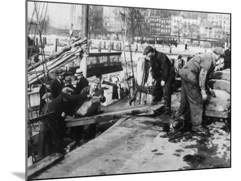 Prohibition Raid--Mounted Photographic Print