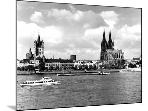 Cologne Cathedral--Mounted Photographic Print