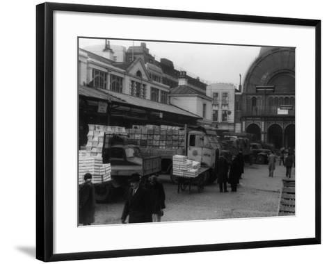Covent Garden Market--Framed Art Print