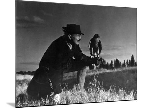 Falconry: at Rest--Mounted Photographic Print
