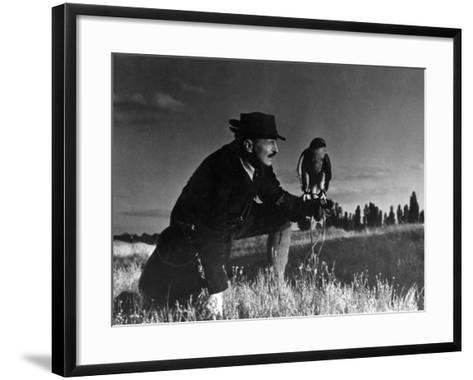 Falconry: at Rest--Framed Art Print