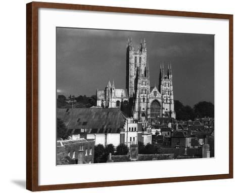 Canterbury Cathedral--Framed Art Print