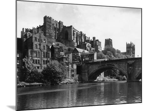 Durham Castle from Wear--Mounted Photographic Print