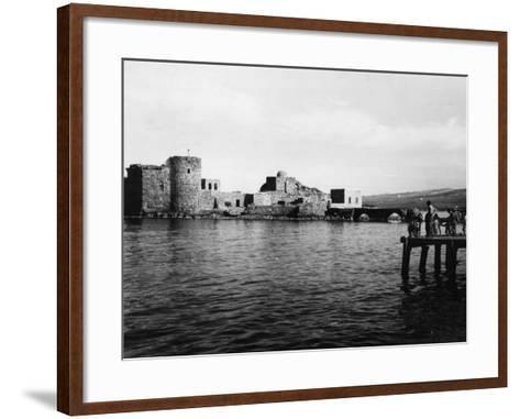 Lebanon, Sidon--Framed Art Print