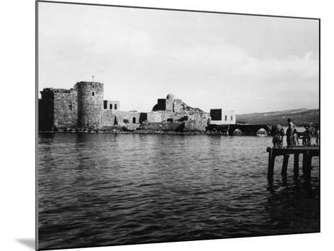 Lebanon, Sidon--Mounted Photographic Print