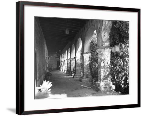 Mission Ruins--Framed Art Print