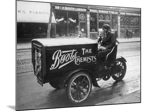 Boots Delivery Van--Mounted Photographic Print