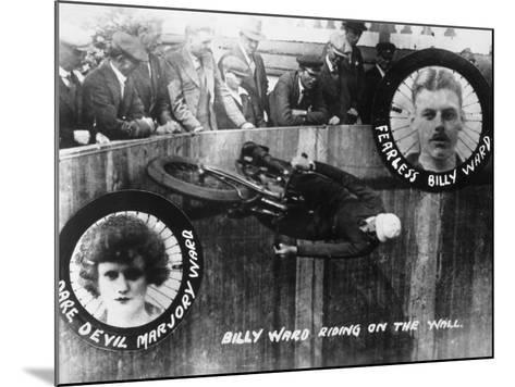 Stunt, Wall of Death--Mounted Photographic Print