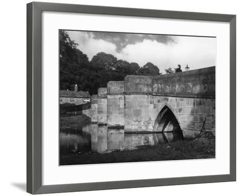 Old Bakewell Bridge--Framed Art Print