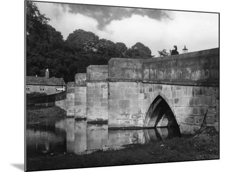 Old Bakewell Bridge--Mounted Photographic Print