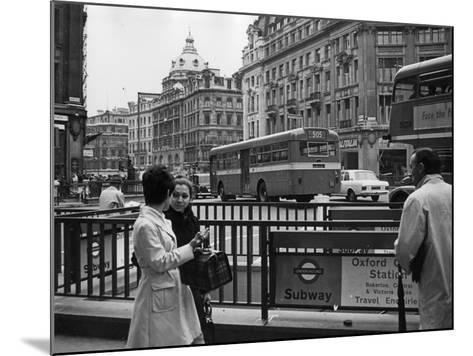 London, Oxford Circus--Mounted Photographic Print