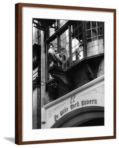 Ye Olde Cock Tavern-Fred Musto-Framed Art Print