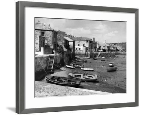 England, Salcombe-Fred Musto-Framed Art Print