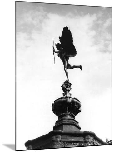 Statue of Eros-Fred Musto-Mounted Photographic Print