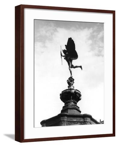 Statue of Eros-Fred Musto-Framed Art Print