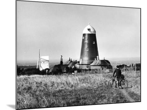 Jack and Jill Windmills-Fred Musto-Mounted Photographic Print