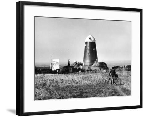 Jack and Jill Windmills-Fred Musto-Framed Art Print