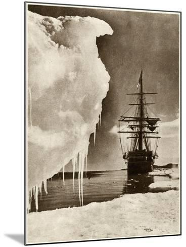 The Terra Nova Expedition-Herbert G Pointing-Mounted Photographic Print