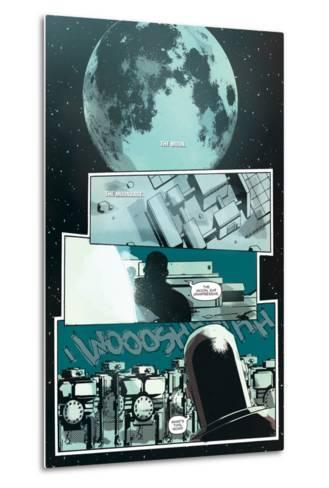 Zombies vs. Robots: No. 8 - Comic Page with Panels-Antonio Fuso-Metal Print