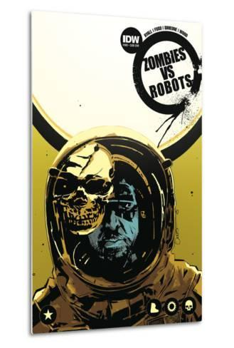 Zombies vs. Robots: No. 8 - Cover Art-Antonio Fuso-Metal Print