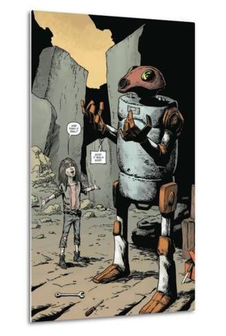 Zombies vs. Robots: Volume 1 - Full-Page Art-Val Mayerik-Metal Print