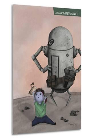 Zombies vs. Robots: No. 10 - Bonus Material-Delaney Mamer-Metal Print