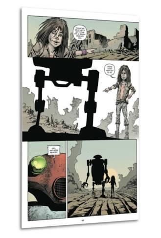 Zombies vs. Robots: Volume 1 - Comic Page with Panels-Val Mayerik-Metal Print