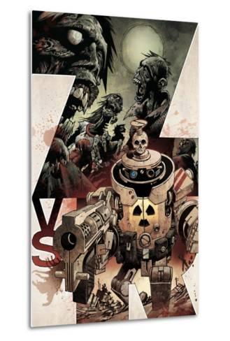 Zombies vs. Robots: Volume 1 - Cover Art-Gabriel Rodriguez-Metal Print