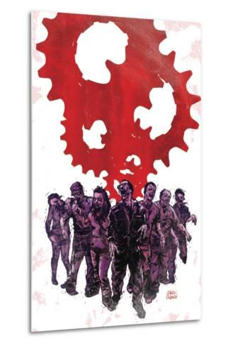 Zombies vs. Robots: Undercity - Cover Art-Garry Brown-Metal Print