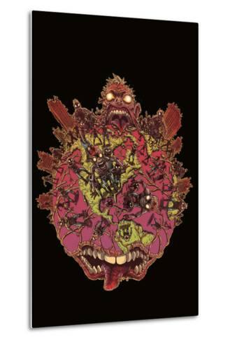 Zombies vs. Robots: Volume 1 - Cover Art-James Stokoe-Metal Print
