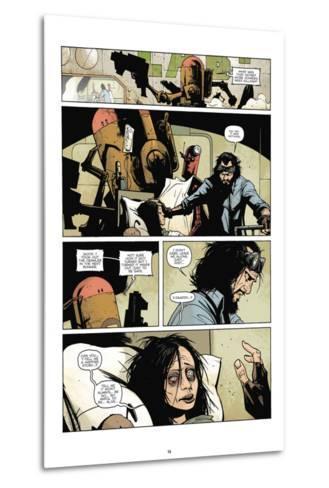 Zombies vs. Robots: No. 7 - Comic Page with Panels-Paul Davidson-Metal Print