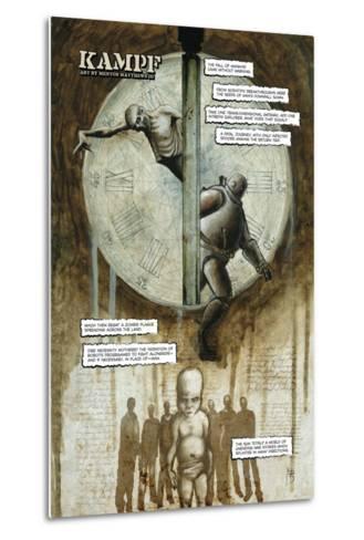 Zombies vs. Robots - Full-Page Art-Menton Matthews III-Metal Print