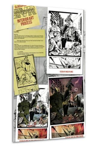 Zombies vs. Robots: Undercity - Bonus Material-Mark Torres-Metal Print