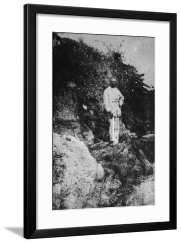 Rimbaud at Harrar-Arthur Rimbaud-Framed Art Print