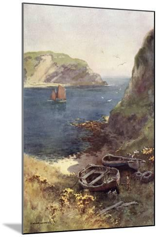 Lulworth Cove-Ernest W Haslehust-Mounted Photographic Print