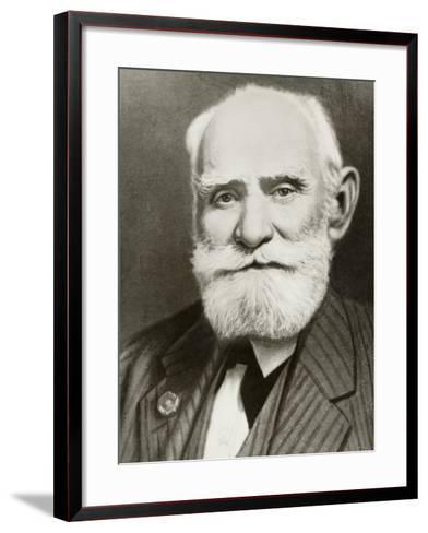Ivan Petrovich Pavlov Russian Physiologist--Framed Art Print